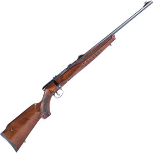 "Savage B22 G Bolt Action Rimfire Rifle .22 LR 21"" Barrel 10 Rounds Wood Stock Blued Finish"