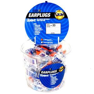 Howard Leight Disposable Super Leight Ear Plugs Foam Orange 50 Pairs 33333