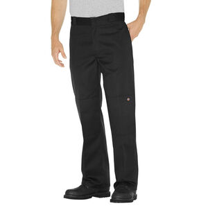 Dickies Men's Loose Fit Double Knee Work Pants 34x30 Black