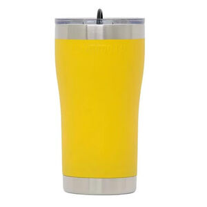Mammoth Coolers Rover Tumbler with Lid 20oz Stainless Steel Yellow