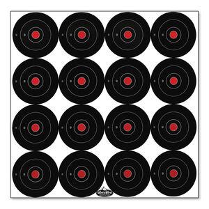 "Birchwood Casey Dirty Bird 3"" Bullseye Targets 12 Pack"