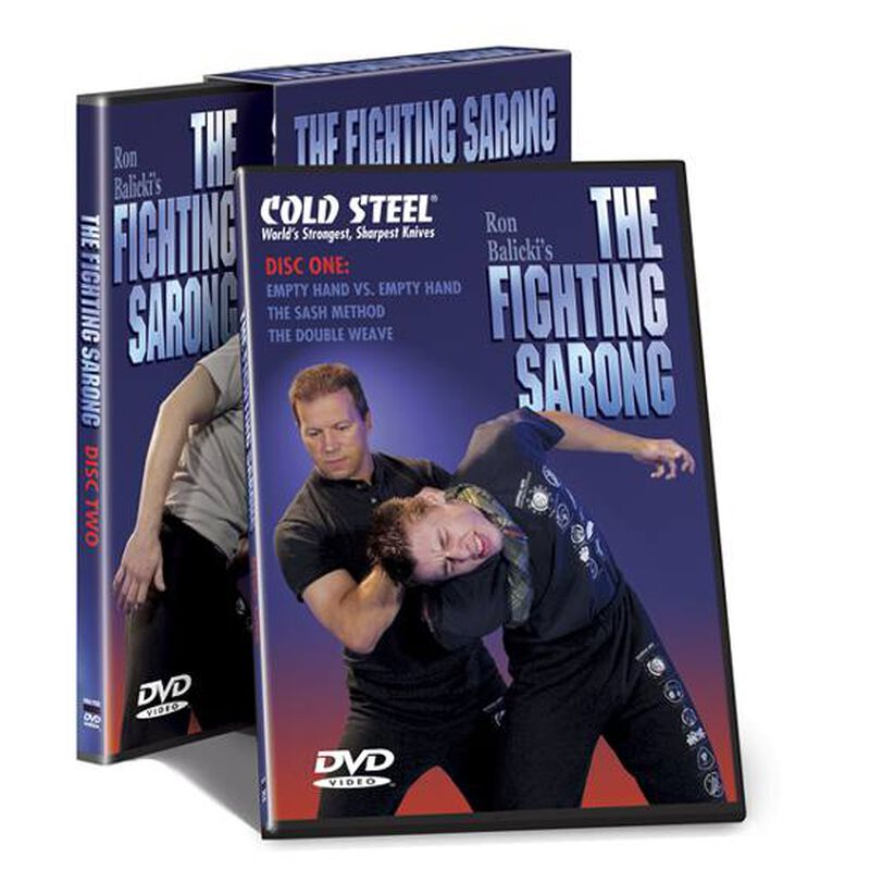 """Cold Steel DVD """"The Fighting Sarong"""" VDFS"""