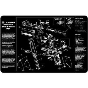 """TekMat S&W M&P Armorer's Mat Neoprene 11""""x17"""""""