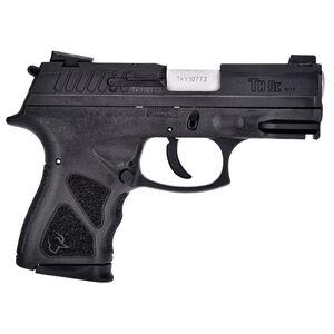 "Taurus TH9c 9mm Luger Semi Auto Pistol 3.5"" Barrel 17 Rounds Thumb Safety Black Polymer Frame Black Slide"