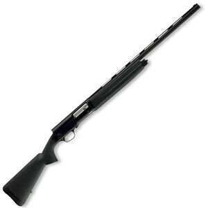 """Browning A5 Stalker Semi Auto Shotgun 12 Gauge 26"""" Vent Rib Barrel 3"""" Chamber 4 Rounds Synthetic Furniture Dura-Touch Armor Coating Matte Black Finish 0118013005"""