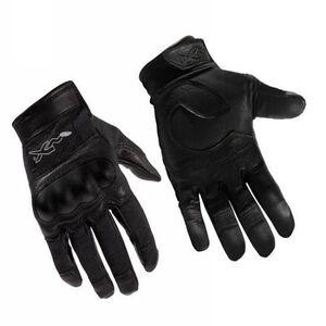 Wiley X Eyewear Combat Assault Gloves Kevlar Leather Large Black