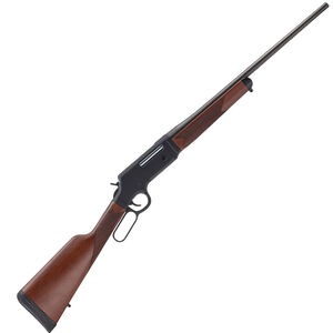 "Henry Long Ranger Lever Action Rifle 6.5 Creedmoor 22"" Barrel 4 Rounds No Sights Drilled/Tapped Receiver Solid Rubber Recoil Pad American Walnut Stock Blued Finish"
