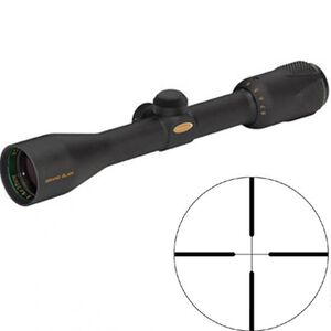 Weaver Grand Slam 3-12x43 Riflescope Dual-X Reticle 1/4 MOA Matte Black 800620