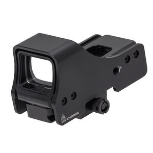 "UTG 3.9"" Red/Green Reflex Sight One 4 MOA Dot Matte Black SCP-RDM39SDQ"