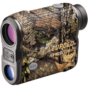 Leupold RX-1600i TBR/W with DNA Laser Rangefinder 6x Magnification 3 Reticles 1600 Yard Max Range Armor Coated Inclinometer Mossy Oak Break Up Country
