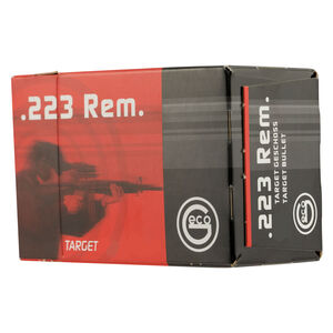 GECO .223 Remington Ammunition 50 Rounds 63 Grain Full Metal Jacket