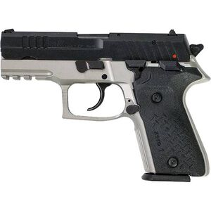 "FIME Group Rex Zero 1CP 9mm Luger Compact Semi Auto Pistol 3.85"" Barrel 15 Rounds Metal Frame Two Tone Grey/Black Finish"