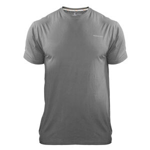 Medalist Men's Tactical Shield Short Sleeve Crew Shirt Polyester/Spandex Small Charcoal M4615CHS