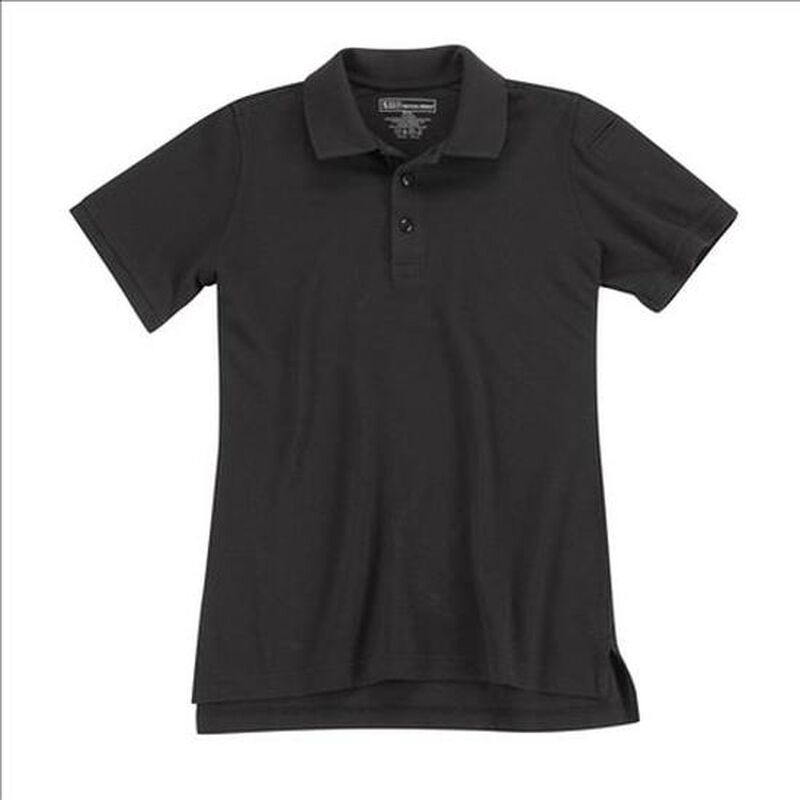 5.11 Tactical Women's Short Sleeve Utility Polo Cotton Polyester Large Dark Navy 61173