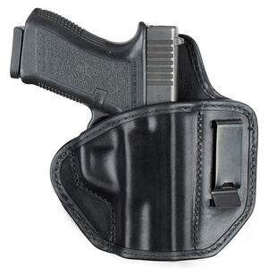 Bianchi Model 145 Allusion Subdue IWB Holster Right Hand Fits GLOCK 17/22 Leather Black