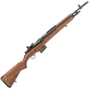 "Springfield Armory M1A Scout Squad 7.62 NATO Semi Automatic Rifle 18"" Barrel 10 Rounds Walnut Stock"