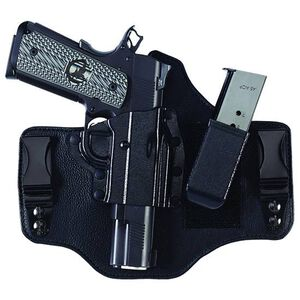 Galco KingTuk2 Colt 1911 and Clones IWB Holster Tuckable Right Hand Leather/Kydex Black KT2-212B