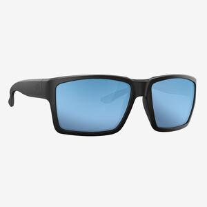 Magpul Explorer XL Polarized Sunglasses Polymer Blue Mirror Lenses Black Frame