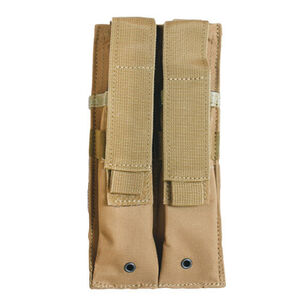 Fox Outdoor Dual MP 5 Mag Pouch Coyote 57-6528