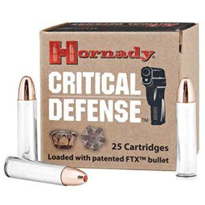Hornady Critical Defense .30 Carbine Ammunition 25 Rounds FTX HP 110 Grains 81030