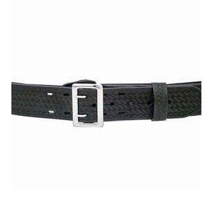 "DeSantis Economy 2.25"" Sam Browne Duty Belt Leather/Synthetic Black Buckle Size 34 Basketweave Black E32BG34Z3"