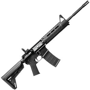 "DPMS AR-15 MOE Warrior Semi Automatic Rifle .223 Rem/5.56 NATO 16"" Barrel 30 Rounds Magpul MOE SL Stock Black Finish"