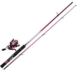 Zebco 33sp Lady Rod Reel and Tackle Reel and Rod Combo A33SPLTHTA,08C,NS3