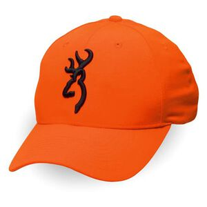 Browning Safety Cap with 3-D Buckmark Blaze Orange 30840501