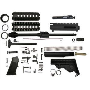 """DPMS AR-15 Sportical Rifle Builders Kit 5.56 NATO 16"""" Barrel DPMS Pardus Stock Matte Black Finish"""