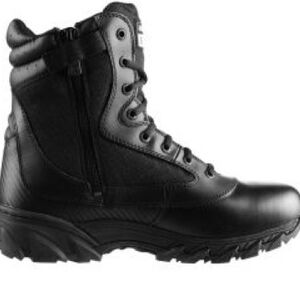 """Original S.W.A.T. Chase 9"""" Tactical Side Zip Boot Nylon/Leather Size 8.5 Regular Black 1312-BLK-08.5"""