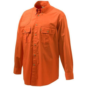 Beretta Special Purchase Men's Shooting Shirt Long Sleeve XL Orange
