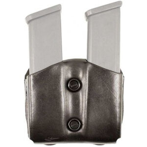 DeSantis Double Magazine Pouch for SIG Sauer P365 Leather Black