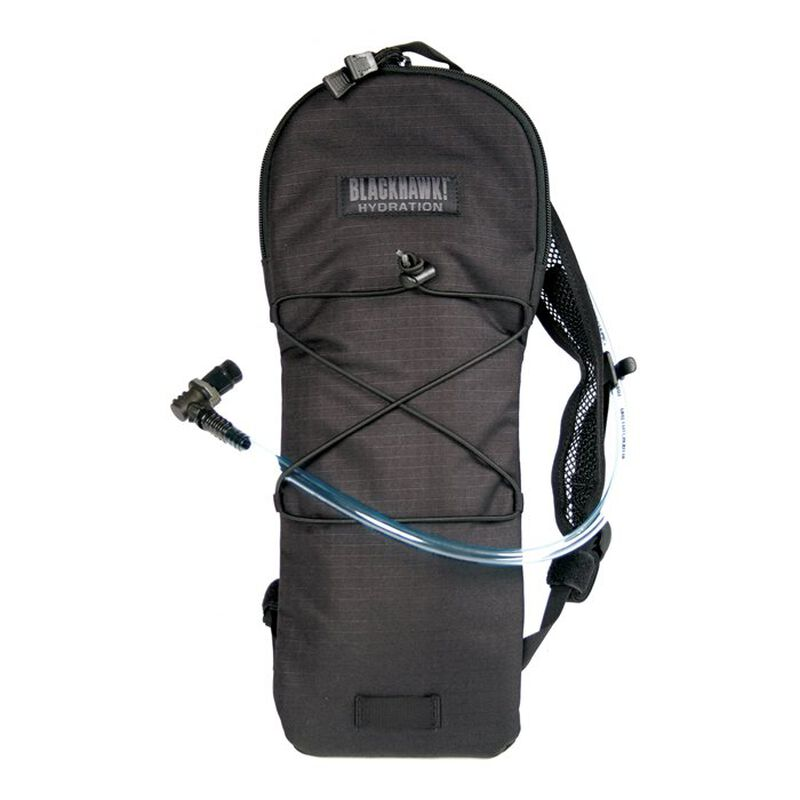 BLACKHAWK! Tidal Rave Hydration Pack 100 oz Nylon Black 65TR00BK