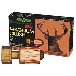 "Brenneke Magnum Crush 12 Gauge Ammunition  5 Rounds  3"" 1.5 Ounce Rifled Slug"