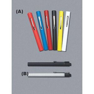 "Emergency Medical International Disposable Rainbow Penlight Lightweight 5"" Long Black 212-BK"