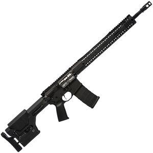 "Black Rain BRO Predator AR-15 Semi Auto Rifle 5.56 NATO 18"" Fluted Barrel 30 Rounds M-LOK Hybrid Handguard MOE Stock Black"
