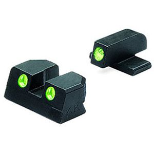 Mako Meprolight Tru-Dot Springfield XD Handgun Night Sights Green/Green ML11410
