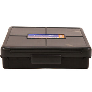 Frankford Arsenal Plastic Hinge-Top Ammo Box 100 Round .40 S&W/.45 ACP and Similar Polymer Gray