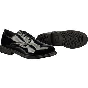 Original S.W.A.T. Dress Oxford Men's Shoe Size 11 Wide Clarino Synthetic Upper Black 118001W-11