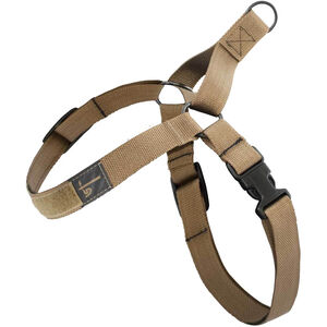 "US Tactical K9 Harness Medium Adjustable with QR Buckle 1.25"" Wide Coyote Brown"