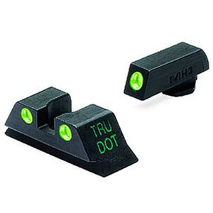 Meprolight Tru-Dot Night Sights GLOCK 20/21/29/30 Fixed Green/Green Steel 10222