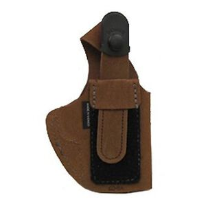 Bianchi #6D Full Size Autos ATB Waistband Holster Left Hand Size 16 Leather Rust Suede 19053
