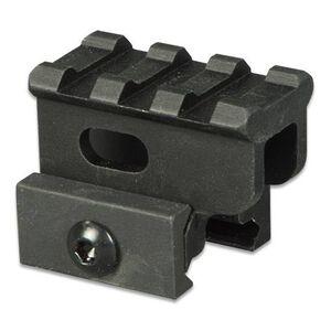 """Lion Gears AR-15 Tactical 1"""" Riser Mount 3 Slots 1.45"""" Long Aluminum Black BM0310"""