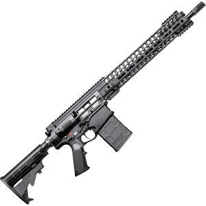"POF USA Edge 6.5 Creedmoor Semi Auto Rifle 16.5"" Barrel 20 Rounds Short Stroke Gas Piston System 14.5"" M-LOK Rail Matte Black"