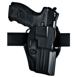 Safariland Model 5197 STI 1911 with Full Dust Cover Open Top Concealment Belt Holster Right Hand Laminate STX Plain Black 5197-850-411