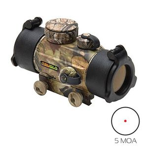TRUGLO 30mmTraditional Red Dot Sight 5 MOA Camo TG8030A