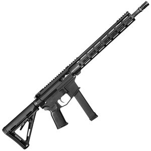 """Angstadt Arms UDP-9 AR Style Semi Auto Rifle 9mm Luger 16"""" Barrel 15 Rounds 13.5 Free Float M-LOK Handguard Magpul MOE Collapsible Stock Black"""