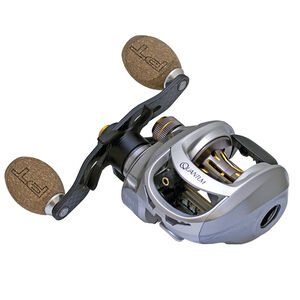 "Quantum Vapor Baitcast Reel 100 Size 6.3:1 Gear Ratio 27"" Retrieve Rate 16 lb Max Drag Right Hand"
