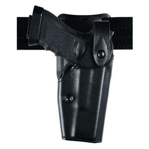 Safariland Model 6285 GLOCK 17, 22, 31 Low Ride SLS Level II Duty Holster Right Hand STX Plain Black 6285-83-61