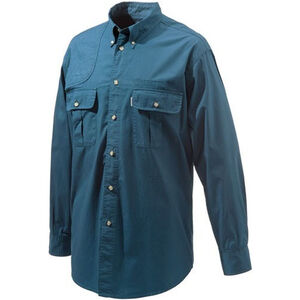 Beretta Special Purchase Men's Shooting Shirt Long Sleeve Large Blue